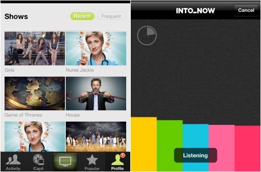 IntoNow aplicativo