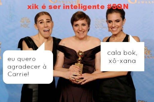 Lena Dunham Golden Globe