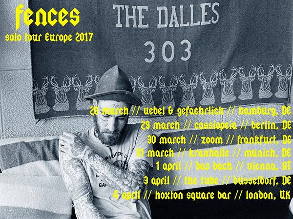 Fences Europe tour