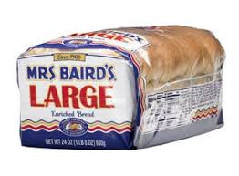 A loaf of Mrs. Baird's bread.