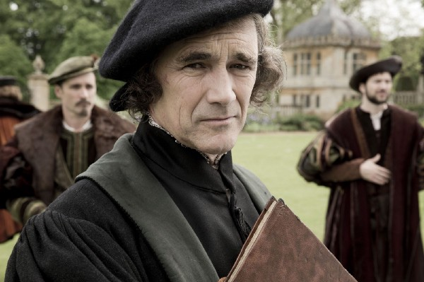 Mark Rylance as Thomas Cromwell in the BBC version of WOLF HALL