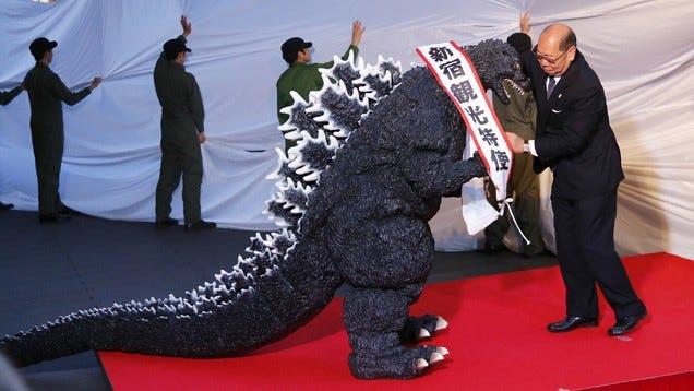 Godzilla in Japan
