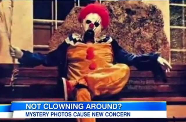 Clown frown