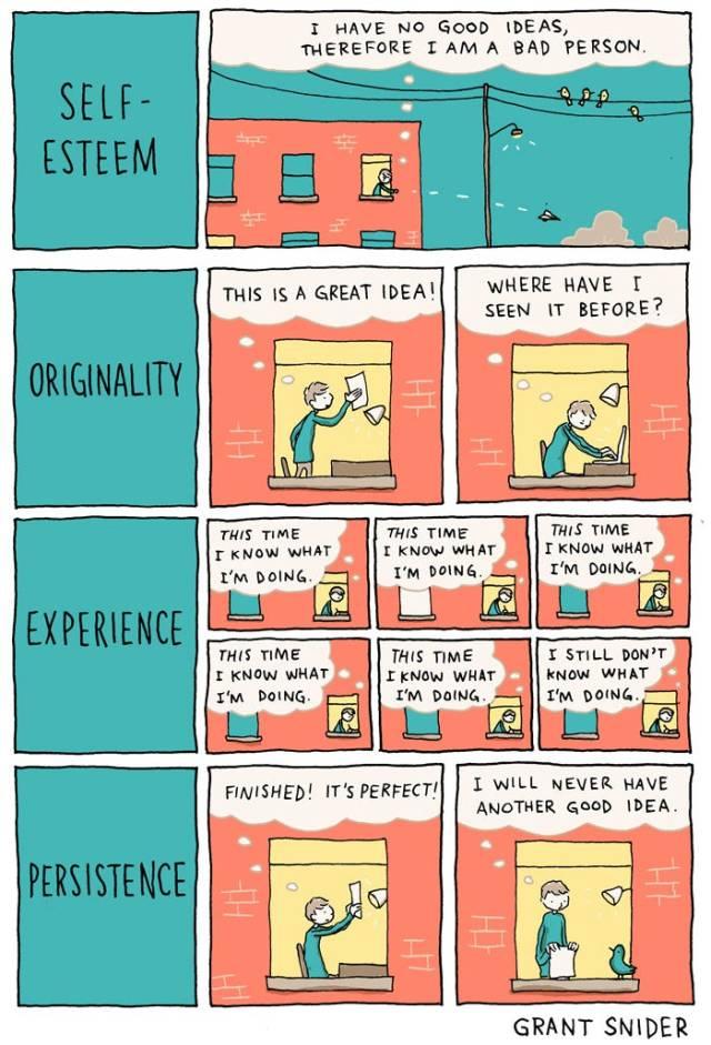 creative thinking comic