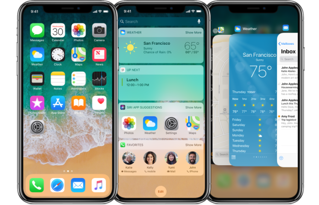 Image result for iPhone X ui