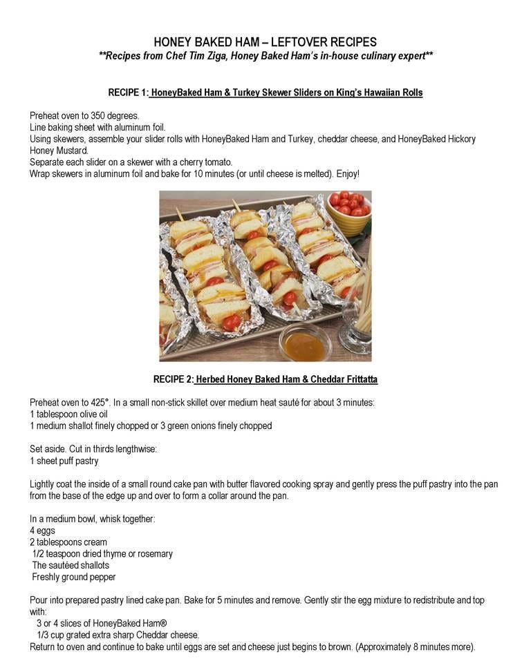 Oven Honey Baked Ham Recipes Chekwiki
