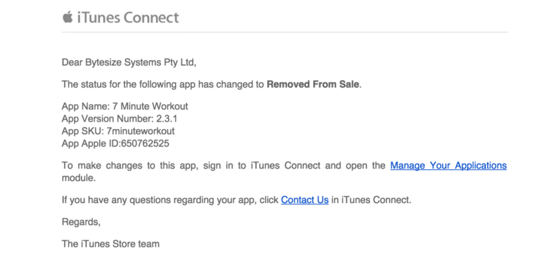 iTunes-Reply