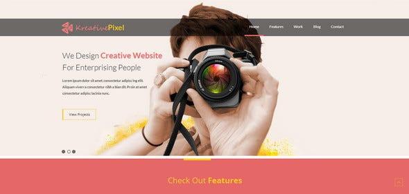 35+ Free Responsive HTML5 CSS3 Website Templates