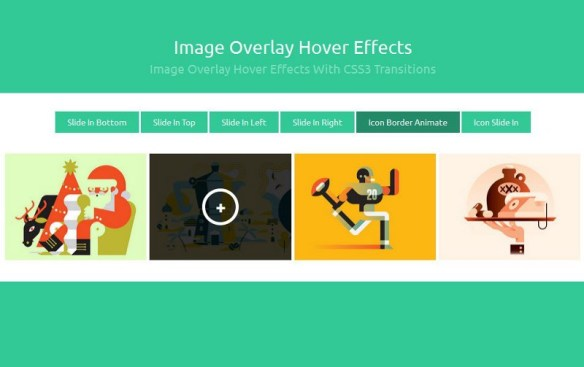 25+ Latest jQuery & CSS3 Image Hover Effects Tutorials