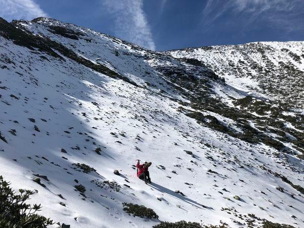雪山主峰圈谷