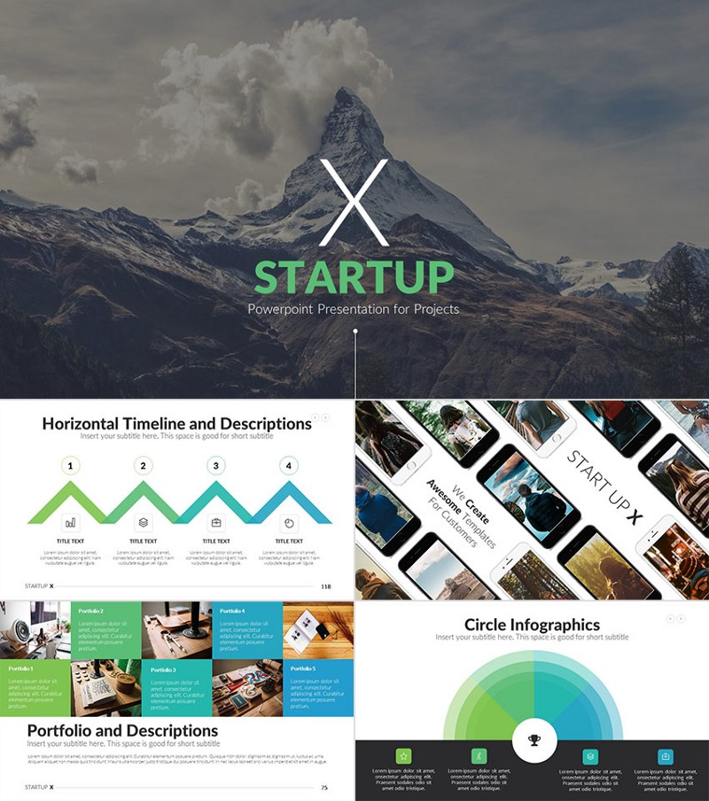 Startup X Powerpoint Presentation Project