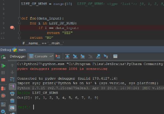 How to use PyCharm to debug your Python code - DaPythonista