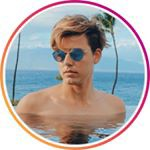 Alexander's Profile Picture on his Instagram @axlek