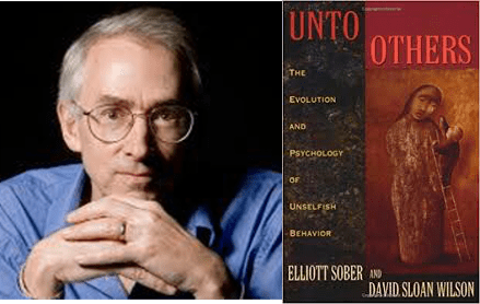 David Sloan Wilson and cover of Unto Others