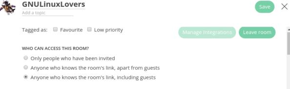 Bridging Matrix and Telegram rooms
