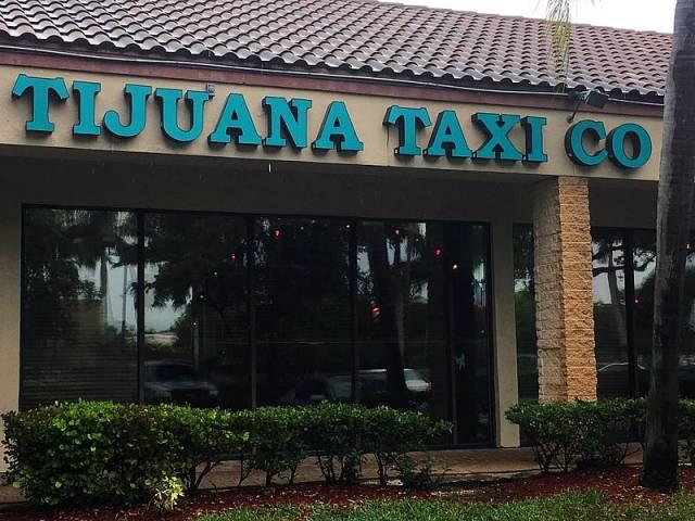 storefront, Tijuana Taxi Co, Tijuana Taxi Co Storefront.