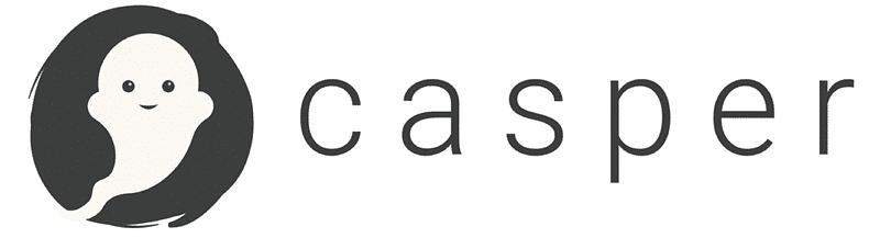 casper logo with white background