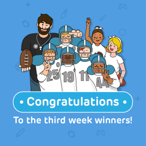 #BackwithBAND Event: Winners from Week Three