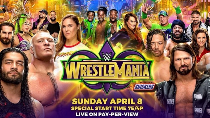 WWE WrestleMania 34 Predicted Match Order