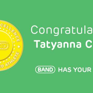 Congratulations Tatyanna Carter, #BANDhasYourBack!