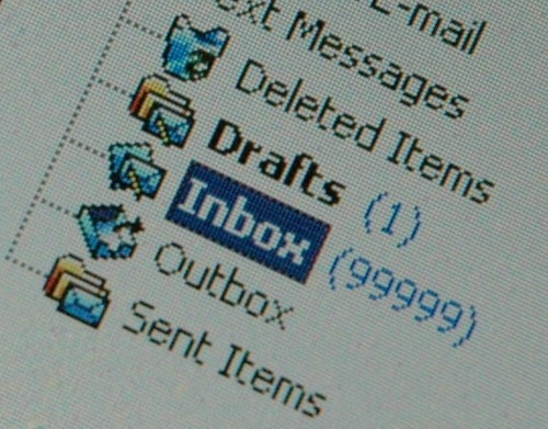 Email inbox out of control