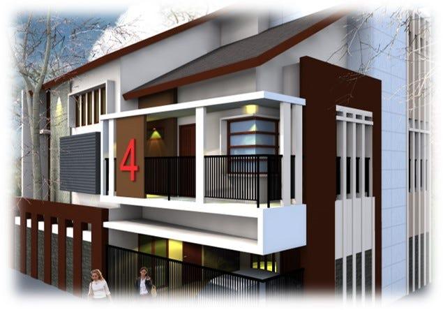 Call 0822 14146314 Jasa Desain Rumah Minimalis Modern 2 Lantai Bandung