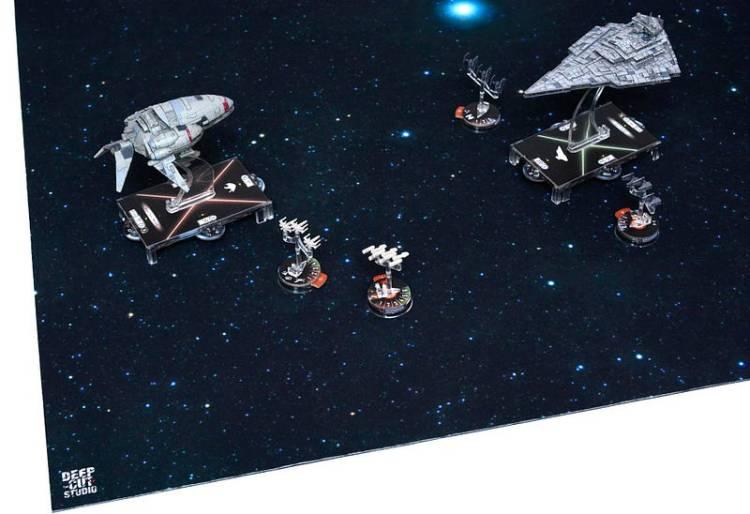 Play Mats - Deep Cut Studios Star Field Star Wars Armada