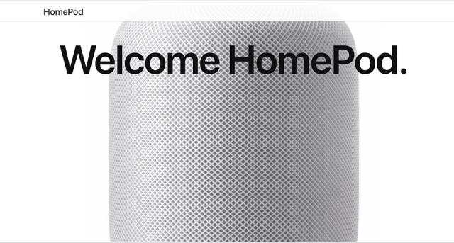 """Apple Homepod - """"A breakthrough speaker allround"""""""