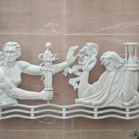 Symbols, sculptures, and architecture