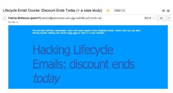 email hacks event sales