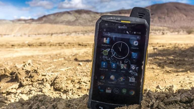 sonim xp7 rugged smartphone