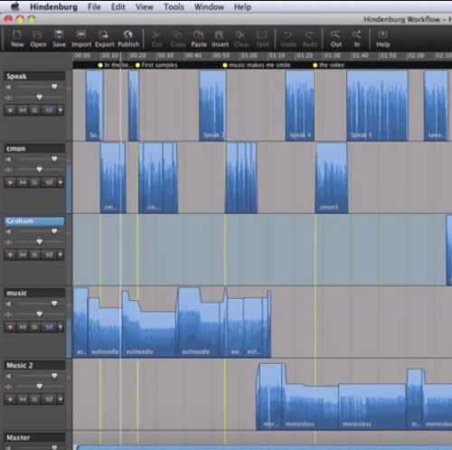 Hindenburg storytelling software for podcasters