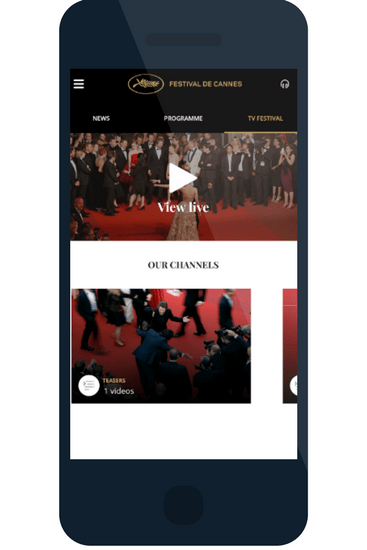Cannes festival event apps