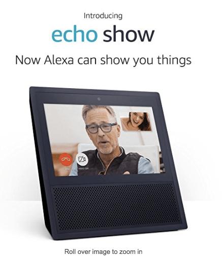 "Amazon Echo Show - ""Voice control yourworld"""