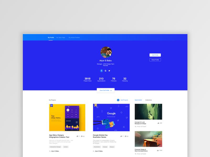 Behanceデザイン