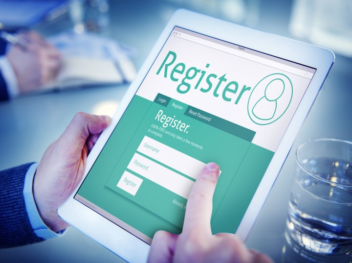 Registration made easy through event app