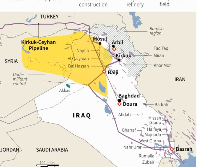 Through The First Nine Months Of The Year Loadings Of Kirkuk Crude Dropped To 430000 Bpd In October And Are Lower Once Again In November After Iraqi