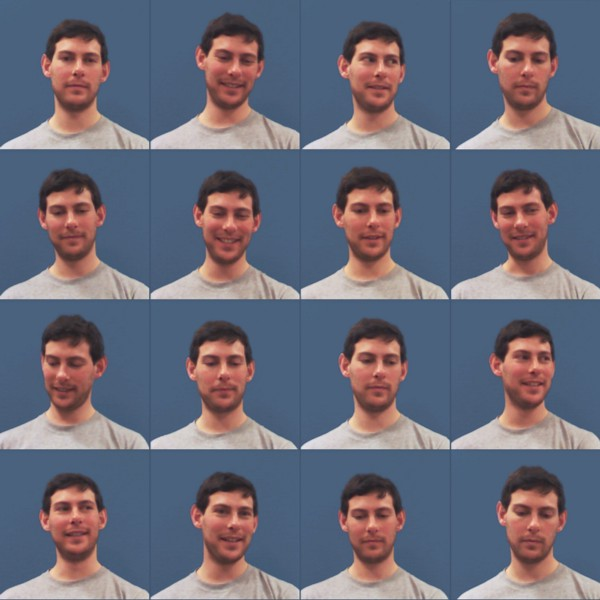 Images used to train a micro-expression detector (thanks JB!)