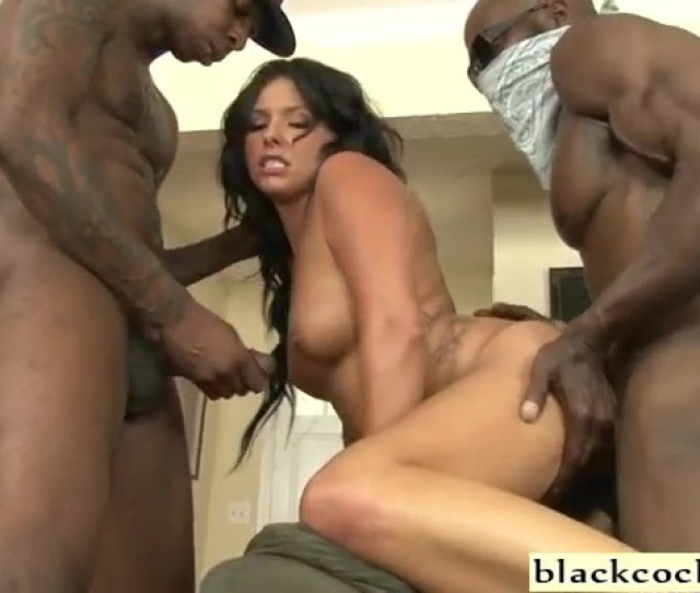 Danica Dillon Banged By Three Giant Ebony Dicks And She Want Even More And Harder