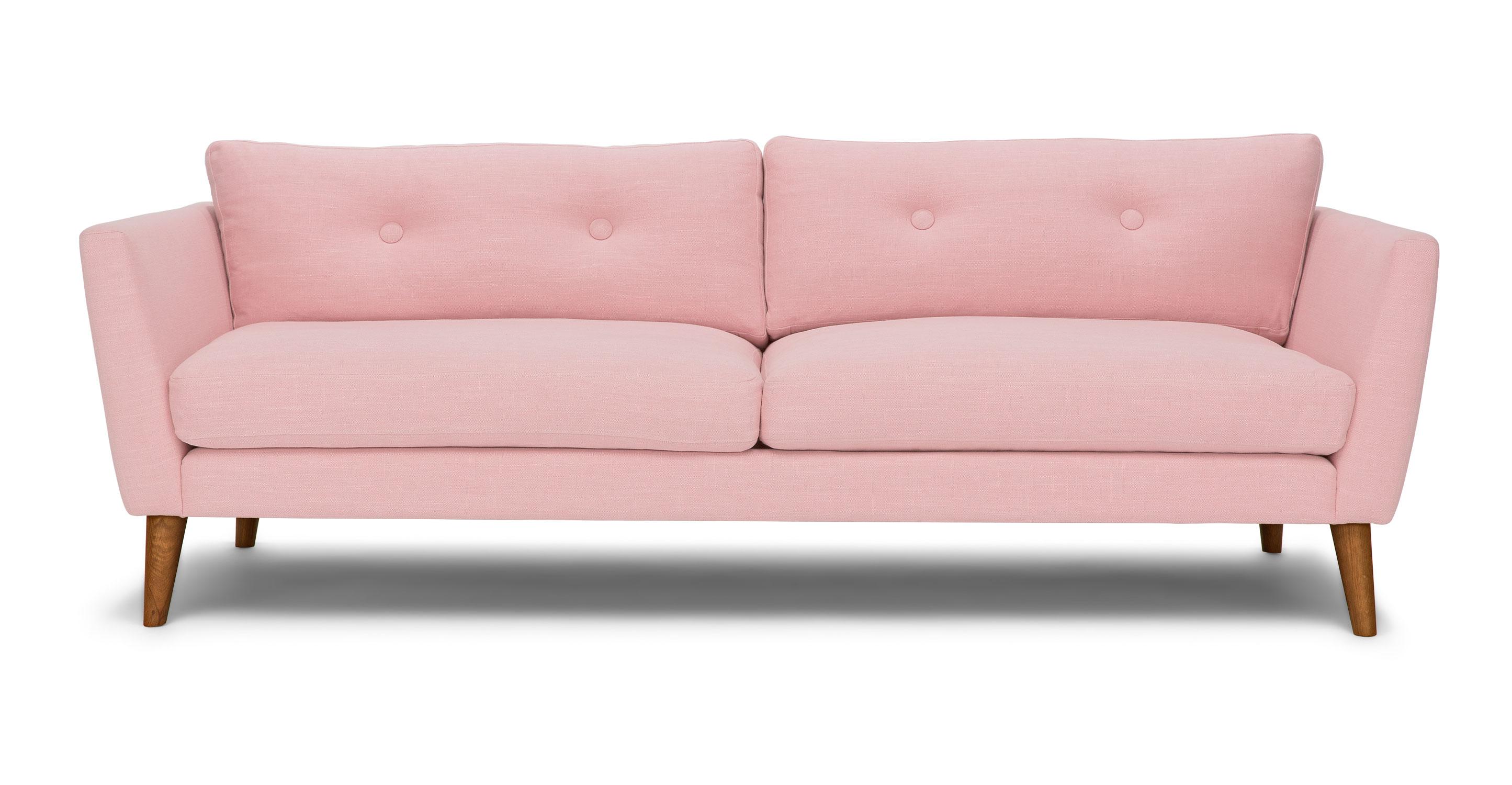 High Back Tufted Sofa