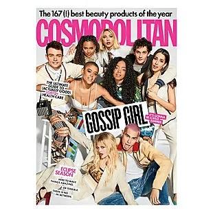 One Year of Cosmopolitan Magazine $5