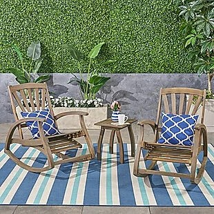 3pc Rocking Chair & Table Set $273