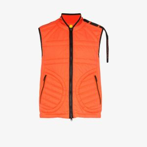 Moncler Genius Mens Orange X Craig Green Huff Vest