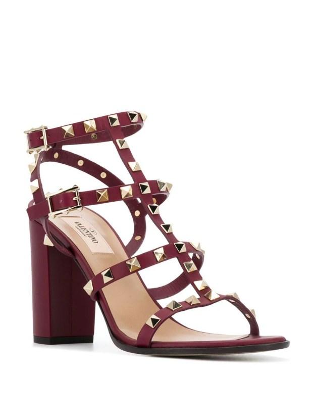Image 2 of Valentino Garavani Rockstud high-heel sandals