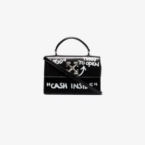 Off-white Womens Black Itney 1.4 Cash Inside Bag