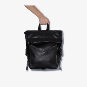 Givenchy Mens Black Downtown Leather Backpack