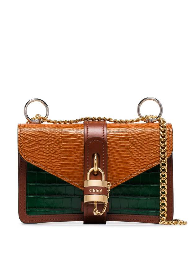 Image 1 of Chloé Aby Chain shoulder bag