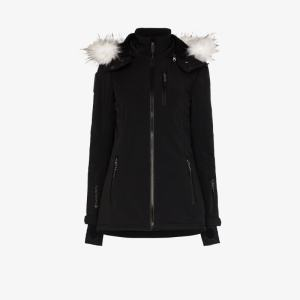 Sweaty Betty Womens Black Exploration Softshell Ski Jacket