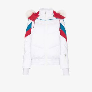 Sweaty Betty Womens White Powder Ski Puffer Jacket