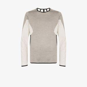 Byborre Mens Grey Merino Weightmap Sweater